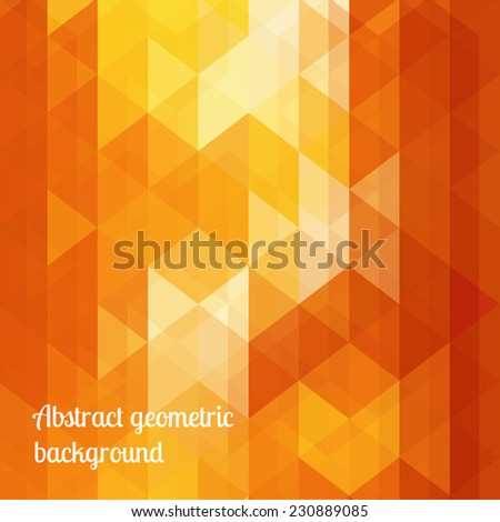 Abstract colorful geometric vector background. Editable eps 10 illustration. - stock vector