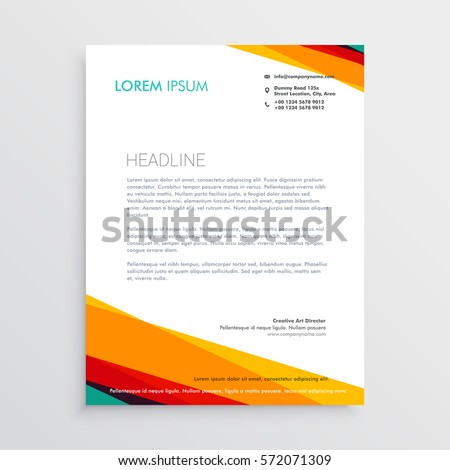 letterhead design templates