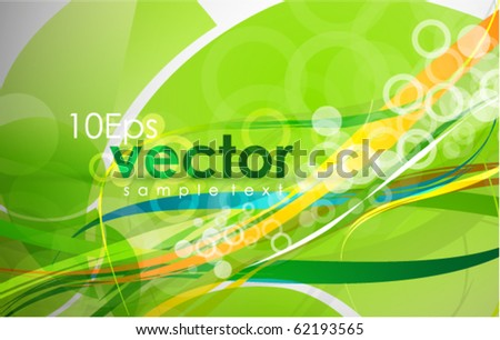 Abstract colorful lines. Vector backgorund