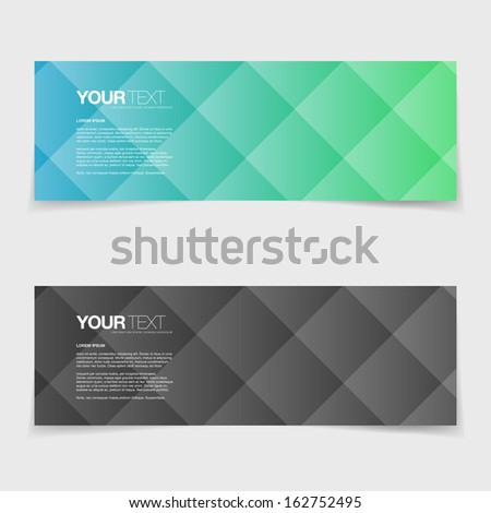 Abstract colorful pattern design card  Eps 10 vector illustration - stock vector