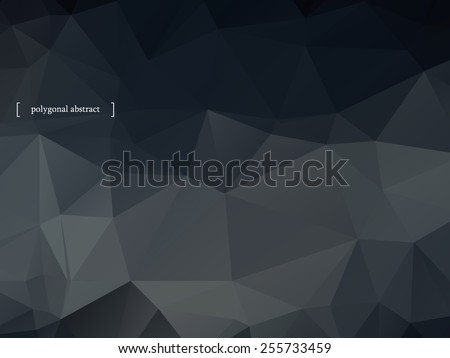 Abstract colorful polygonal background. Vector illustration eps10  - stock vector