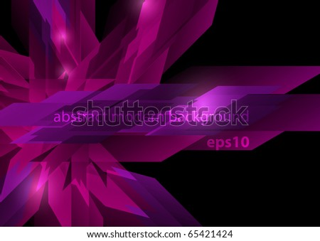 Abstract colorful shiny modern design (eps10) - stock vector