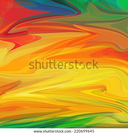 Abstract colorful summer background. Vector illustration. - stock vector
