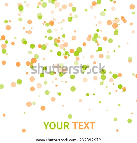 abstract colorful swirly  great vector illustration, EPS - stock vector