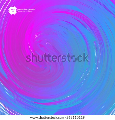 Abstract colorful trail background. Vector illustration.  - stock vector