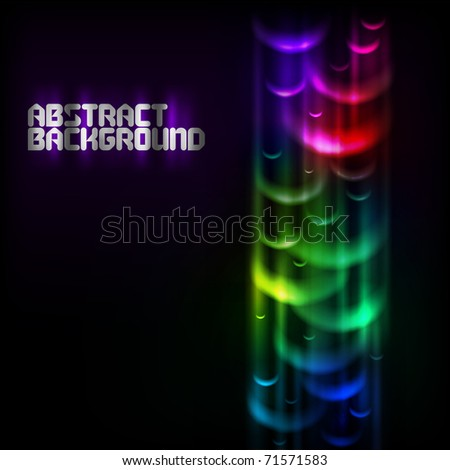 abstract colorful vector background - stock vector