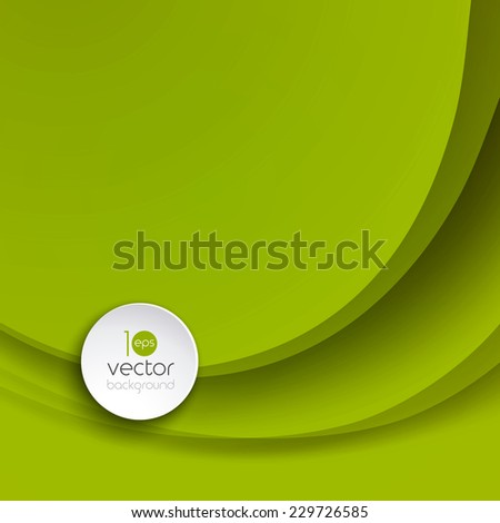 Abstract colorful vector wave background . EPS 10 - stock vector