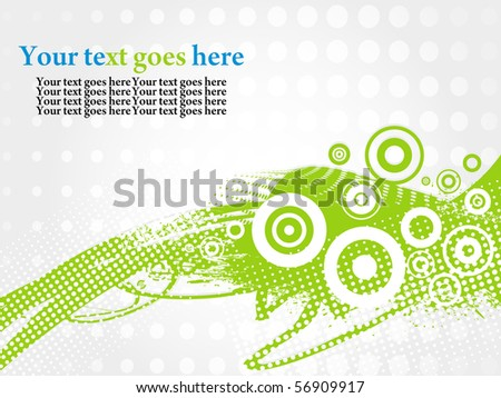 Abstract Colour Grunge Background - stock vector