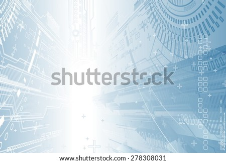 Abstract composition. - stock vector