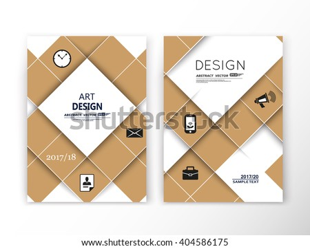Abstract composition. Beige mosaic square construction. Font texture. Box block puzzle section surface. Brochure title sheet. Creative figure vector art. Commercial offer. Banner form. Flyer fiber. - stock vector