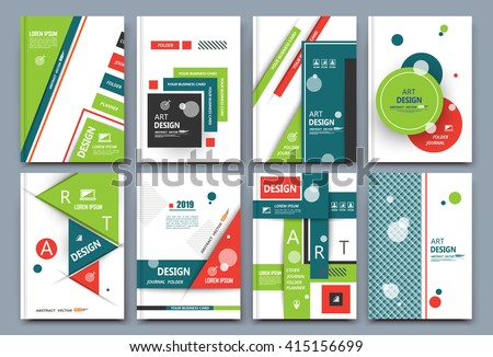 Abstract composition, font texture, white business card set, infographic element collection, a4 brochure title sheet, patch part construction, creative text frame surface, figure logo icon, EPS10 image - stock vector