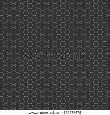 Abstract composition of hexagons of geometric shapes.Colorful mosaic background. vector illustration - stock vector