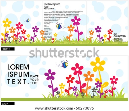 Abstract composition Vector Background ,vector illustration