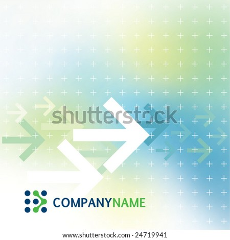 Abstract corporate background - stock vector