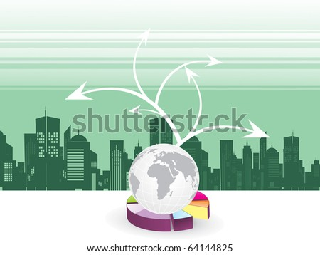 abstract corporate background, illustration