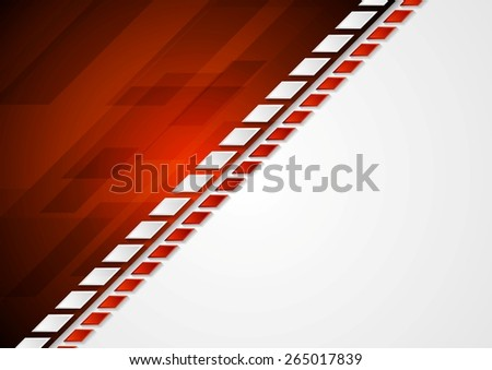Abstract corporate bright tech background. Vector design - stock vector