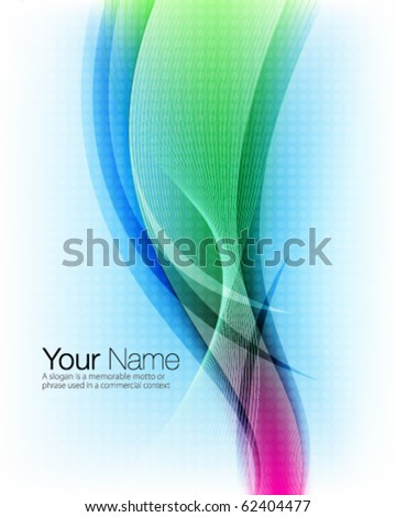 Abstract corporate vector background design