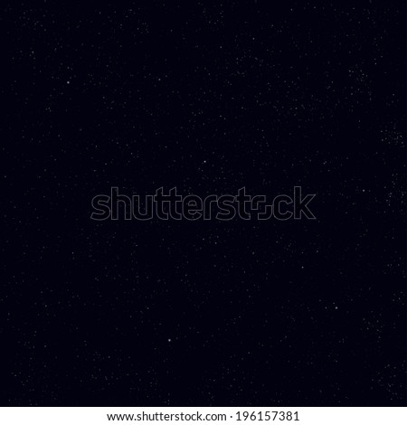 Abstract cosmos background with many tiny stars - stock vector