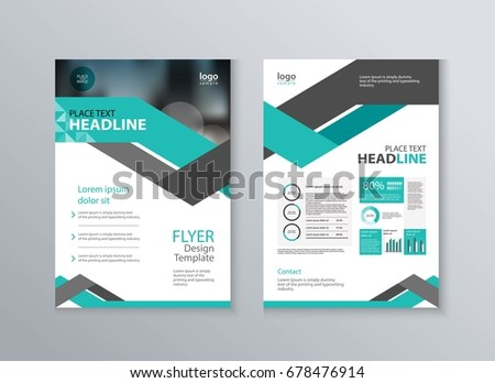 Abstract Cover Layout Design Template Marketing Stock Vector HD ...