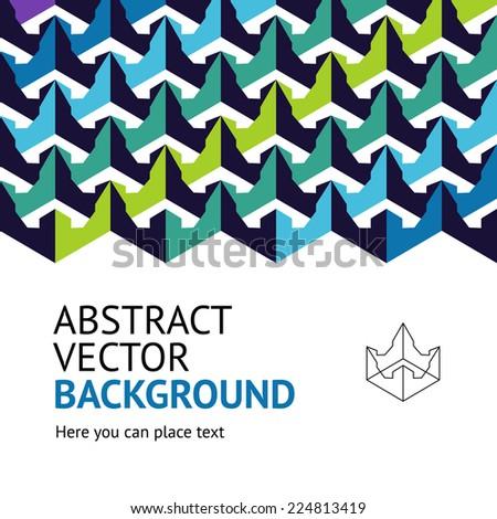 abstract cover design vol1 - stock vector