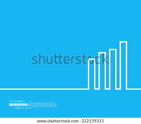 Abstract creative concept vector background. For web and mobile applications, illustration template design,
