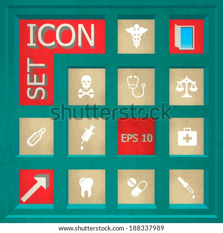 Abstract Creative concept  vector Flat Icon Set for Web and Mobile Applications - Set 14