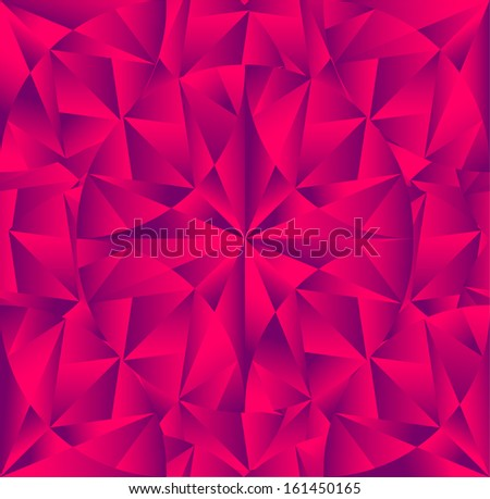 abstract crystal background. eps8 - stock vector