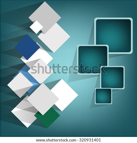 Abstract cube vector background eps 10