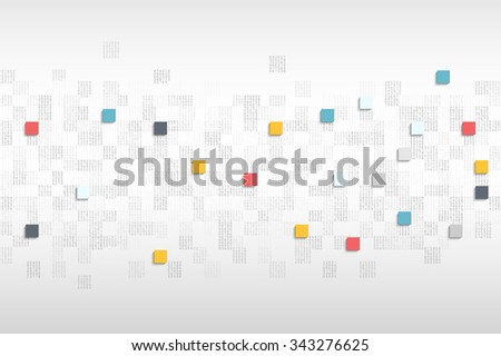 Abstract cubes. Creative Eps10 vector background for your design - stock vector