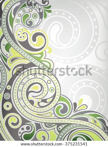 Abstract Curve Background - stock vector