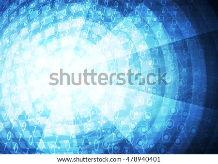 Abstract cyberspace background.