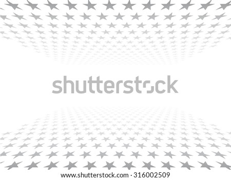 abstract 3d background textured stars - stock vector