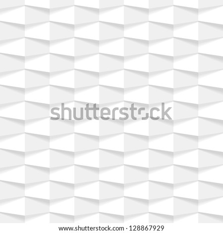 Abstract 3d geometric background. vector illustration - stock vector