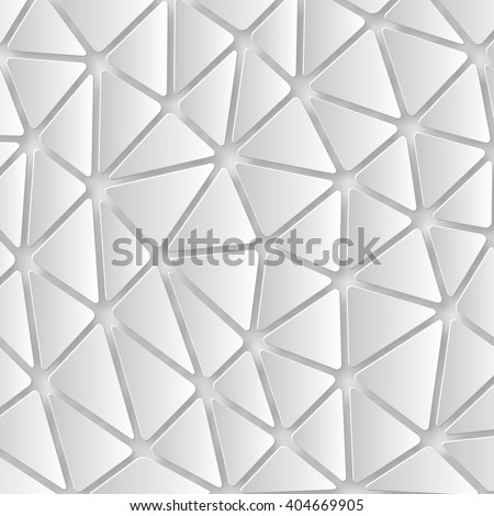Abstract 3D Paper background of triangles. Vector - stock vector