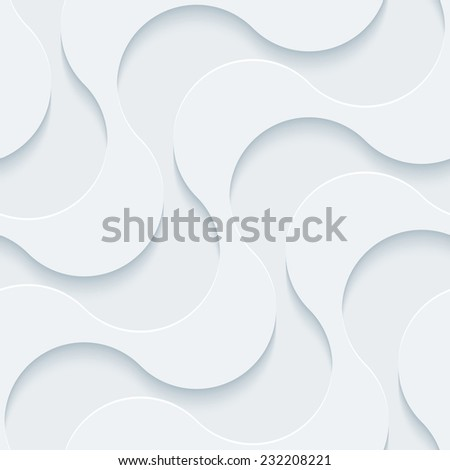 Abstract 3d seamless background. Perforated Paper Set. Vector EPS10. - stock vector