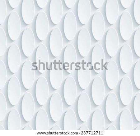 Abstract 3d seamless pattern. Editable vector EPS10. See others in a Perforated Paper Set.