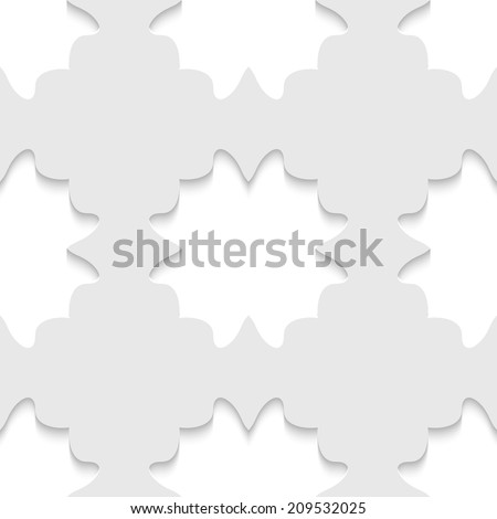 Abstract 3D Seamless Pattern, vector - stock vector