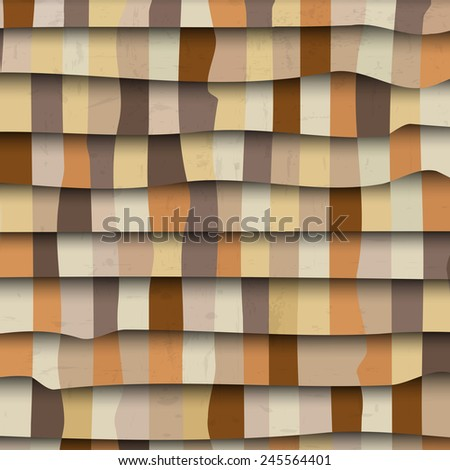 Abstract 3d textured background. Vector eps10 - stock vector