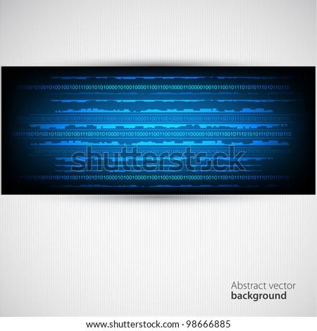 Abstract dark background. Vector - stock vector