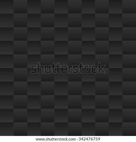 Abstract dark seamless pattern. Vector background