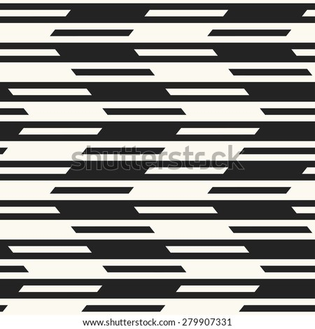 Abstract dashed line zigzag textured background. Seamless pattern. - stock vector