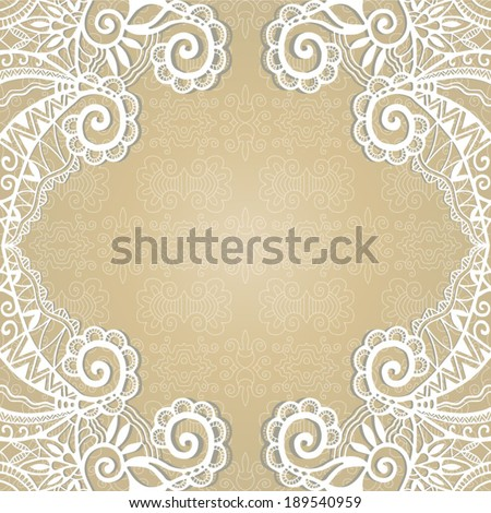 French laces stock photos images pictures shutterstock for Border lace glam