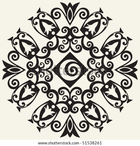 abstract decoration, vector design elements