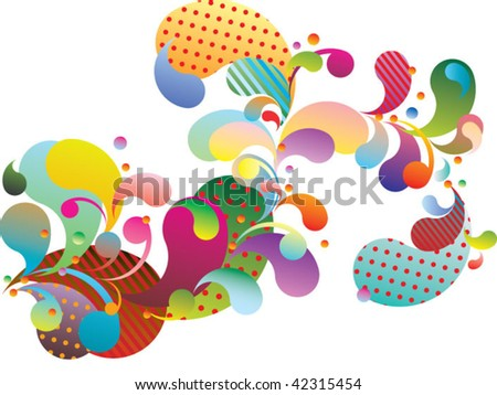 abstract decorative - stock vector