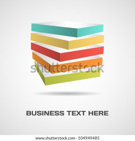 Abstract design concept - stock vector