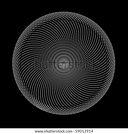 Abstract design element - stock vector
