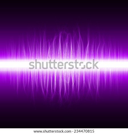 abstract design of violet magic lines.(grouped lines sound effect version)