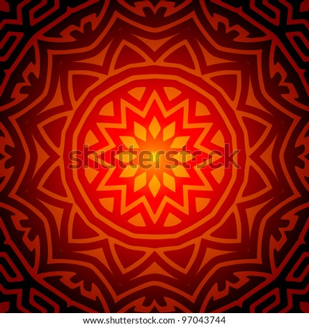 Abstract Design Pattern (EPS10 Vector) - stock vector