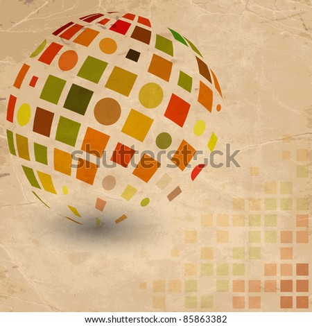 Abstract Design, vector - stock vector