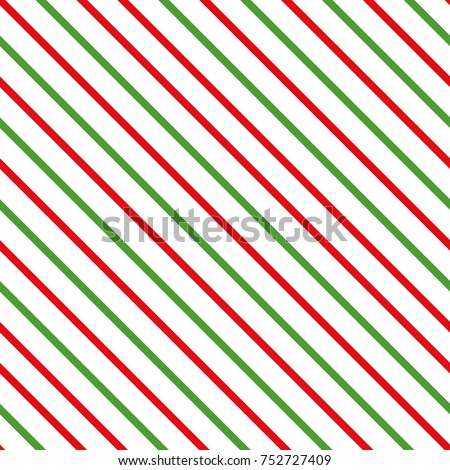 Abstract Diagonal Tradicional Merry Christmas Background Seamless Pattern Made On Red Green Color Geometric